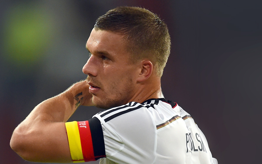 Lukas Podolski - football player